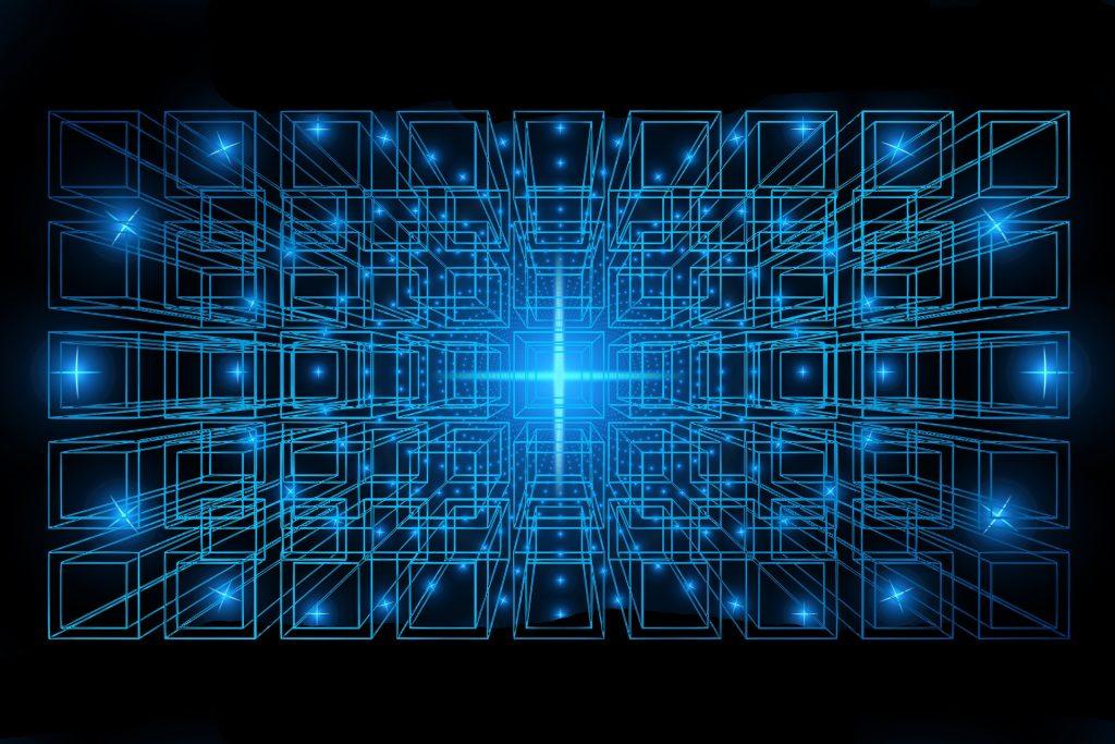 Symbolbild für die Blockchain-Revolution