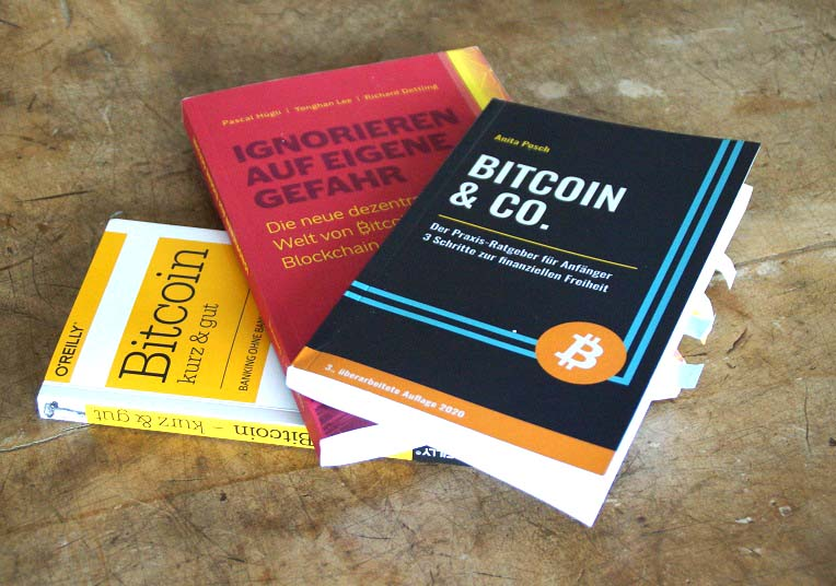Ignorieren? Drei weitere Bitcoin-Buchtipps